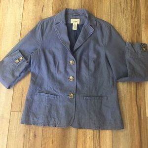 L.L. Bean Linen and Cotton Jacket